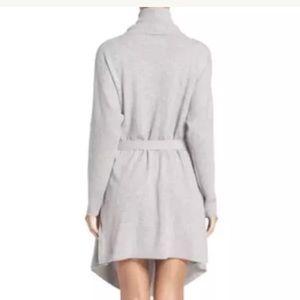 UGG Intimates   Sleepwear - UGG CHEYENNE 100% CASHMERE ROBE SIZE GREY  HEATHER d45362806